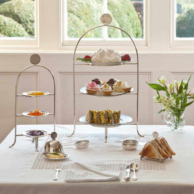English Garden Tea Silver Ware